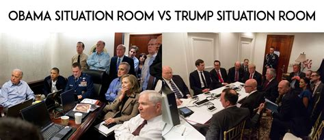 Situation Room Meme - obama situation room vs trump situation room djt facts