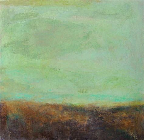 abstract landscape jade sky by grace