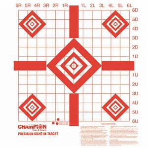 Sight in targets 220725 shooting targets at sportsman s guide