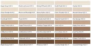 brown color chart lowes brown color chart images country