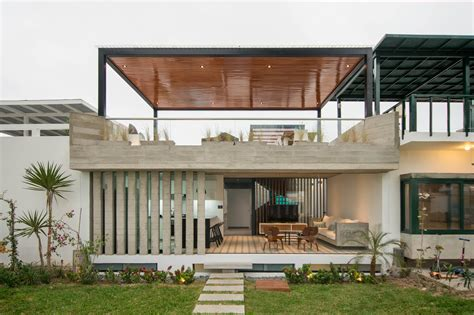 concrete home designs modern concrete beach house design with rooftop terrace
