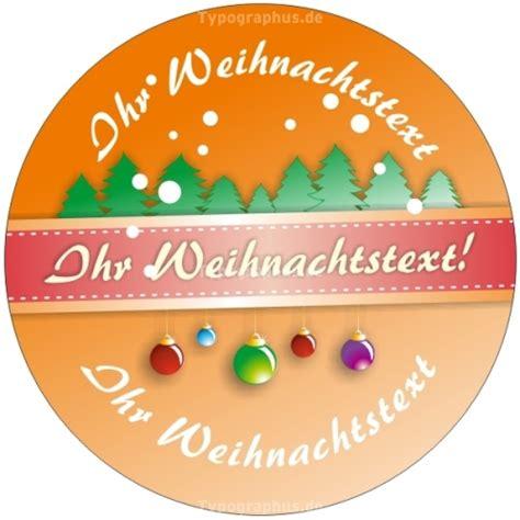 Aufkleber Drucken Individuell by Weihnachtsaufkleber Individuell Rund 03 Nr 127