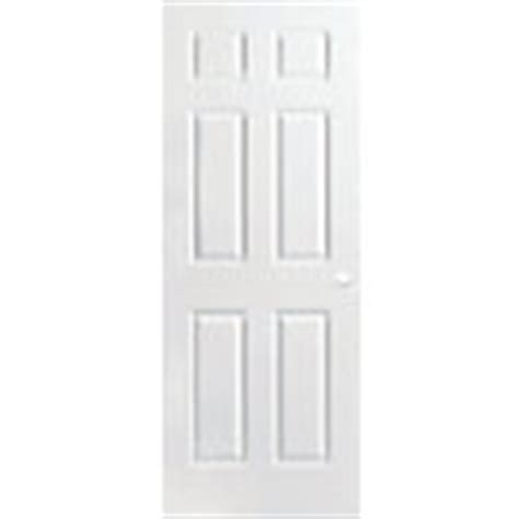 Pre Bored Interior Doors Masonite 30 Inch X 80 Inch Primed Textured 6 Panel Interior Door Slab The Home Depot Canada