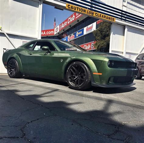 widebody hellcat green 362 best srt hellcat wide challengers only