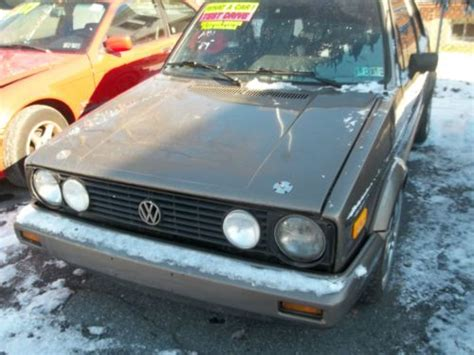 purchase used 1989 volkswagen cabriolet base boutique 1 8l i4 mpi in allentown pennsylvania