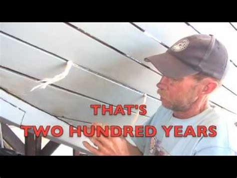 wooden boat repair videos wooden boat repair dry hull caulking 4 youtube