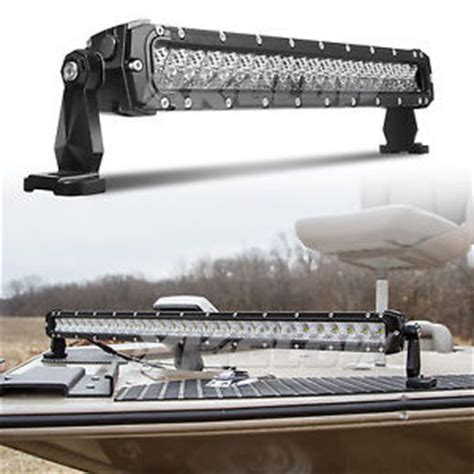 Led Light Bars For Boats Boat Marine Fishing Led Light Bar Dc 9 36v Water Proof Search Light 20 Inch 100w