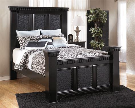 ashley cavallino mansion bedroom set  bedroom