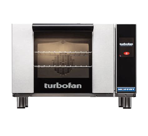 turbofan e23t3 half size electric convection oven touch