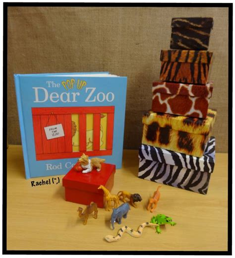 themes zoo story story baskets props dear zoo zoos and literacy