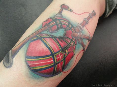 bagpipe tattoo designs 49 bagpipes tattoos