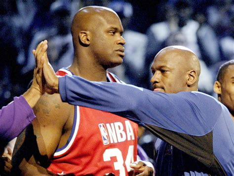 shaquille o neal energy drink shaq thinks mj would beat lebron dr j would beat them