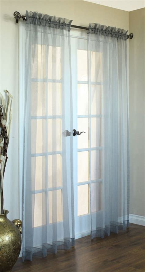 cheap 95 inch curtains window curtain semi sheers canada discount