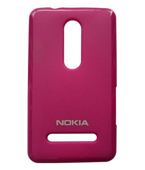 xcell back cover for nokia asha 210 xcell flipkart com mc case back cover case for nokia asha 210 pink available