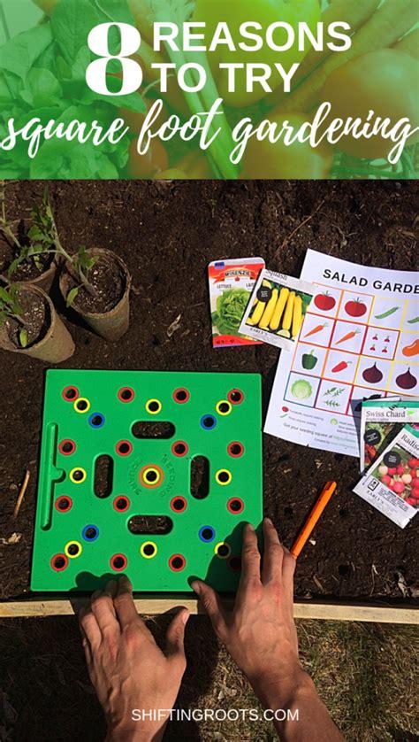 reasons  start square foot gardening   backyard