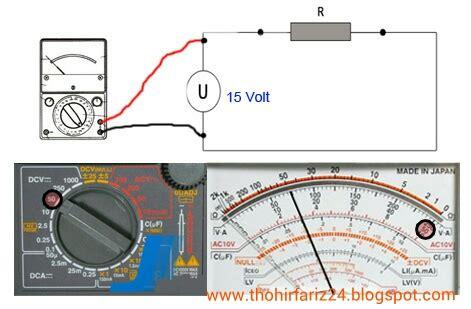 Berapakah Multimeter hobi oprek elektronika cara membaca multimeter avometer analog