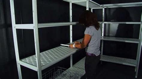montaggio scaffali metallici montaggio scaffalatura ad angolo marchio quot a i quot