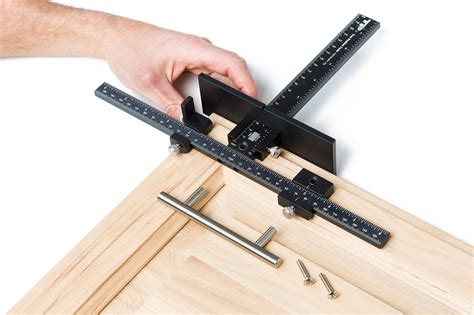 Cabinet Door Jig True Position Tp 1935 Cabinet Hardware Jig And Hardware Extensions True Position Tools