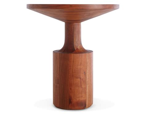 how tall should a side table be turn tall side table hivemodern com