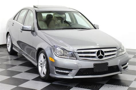 2012 Mercedes C300 by 2012 Used Mercedes C Class Certified C300 4matic