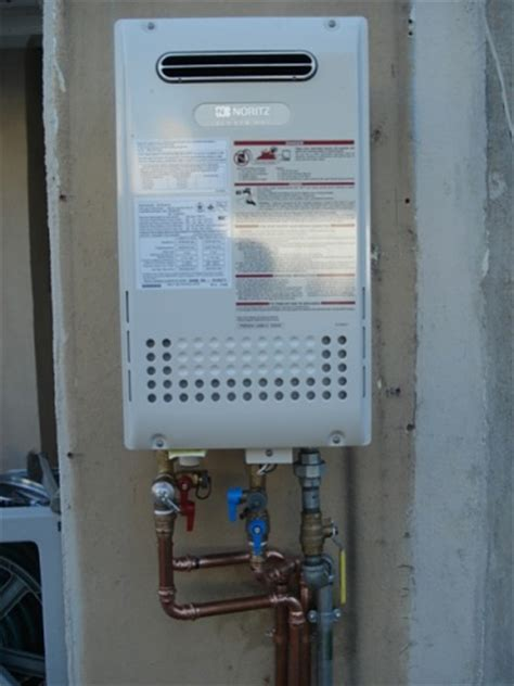Tankless Water Heater Repair Noritz Tankless Water Heater Propress Installation