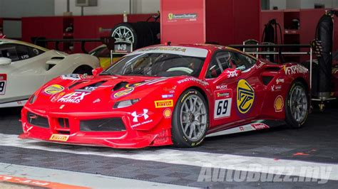 Ferrari Challenge by Naza World Introduces The First And Only Malaysian To Race