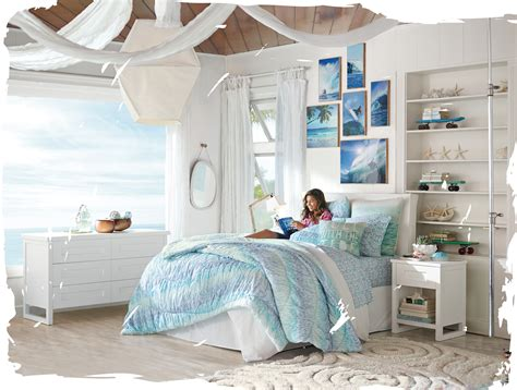 girls surf bedroom kelly slater for pb teen bedroom decor inspiration