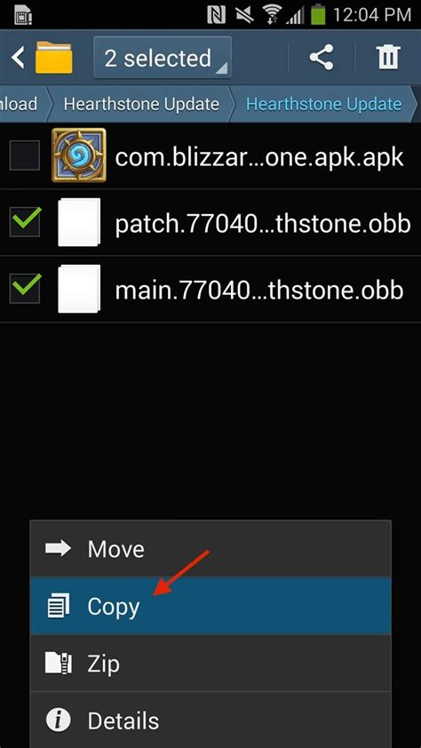 my files android how to bypass restrictions to install hearthstone on any android device 171 android gadget hacks