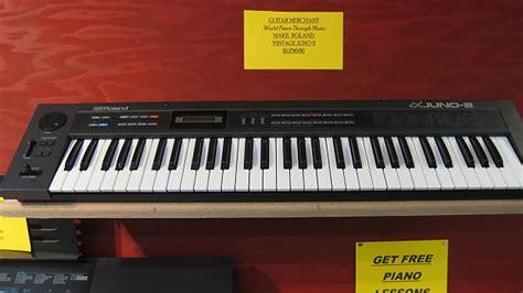Roland Piano Plus Vintage Synthesizer vintage roland juno 2 61 key analog keyboard synthesizer reverb