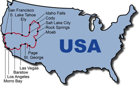san francisco map america motorcycle tours best of west usa bike tour