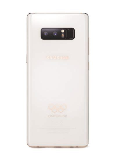 Samsung Note 8 Tahun 2018 Samsung Has Made A Limited Edition Galaxy Note 8 For The Pyeongchang 2018 Olympic Sammobile