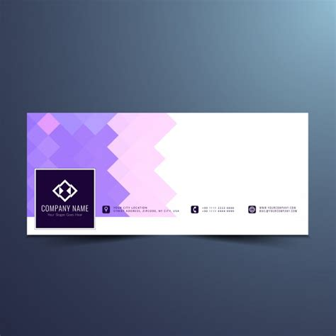 facebook layout free vector abstract modern facebook timeline design vector free