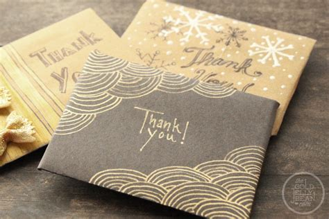 Personalize Gift Cards - creative christmas wrapping personalizing gift cards the gold jellybean