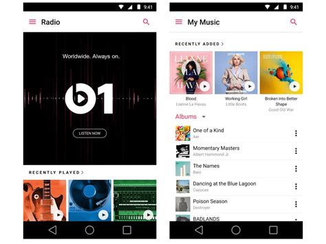 apple music android musikdienst apple music beta f 252 r android ver 246 ffentlicht