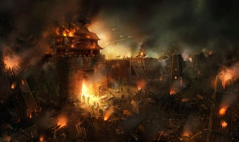 siege of battle wallpaper and background 1345x800 id 113106