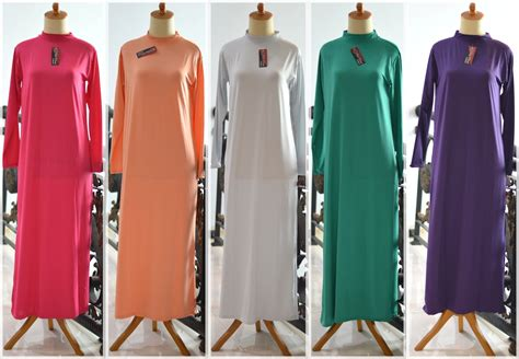 Manset Dalaman Manset Ungu Limited jual dalaman gamis baju muslim kaftan manset panjang inner terusan halus kebaya jadi gaun