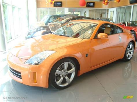 orange nissan 350z 2007 solar orange pearl nissan 350z touring coupe