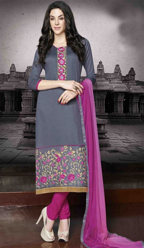 indian fashion churidar suits designs collection