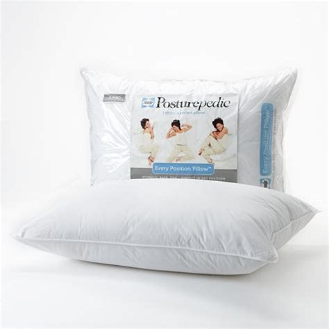 Posturepedic Pillows by Sealy Posturepedic Every Position Pillow Reviews In Bedding Towels Linen Chickadvisor