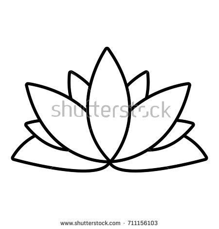 Lotus Stock Images Royalty Free Images Vectors Lotus Flower Outline