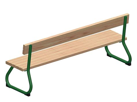 rest bench playo toddlers bench with back rest sederli mini eibe