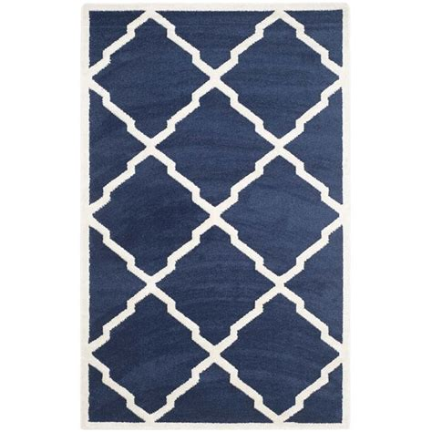 Outdoor Rugs 8 X 10 Safavieh Amherst Navy Indoor Outdoor Rug 8 X 10 Amt421p 8