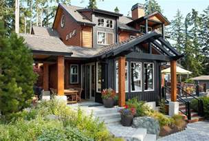 Outdoor Shower Floor Ideas - iron gray hardie exterior traditional with james hardie siding traditional accent and garden stools