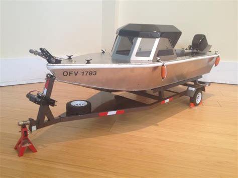 rc jet boat unboxing aluminum rc boats rcu forums