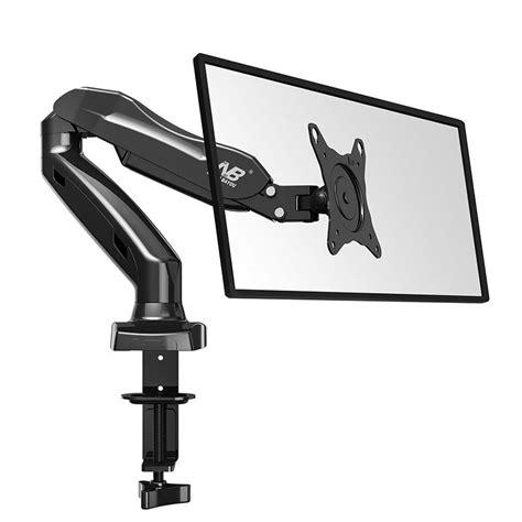 Monitor Bracket For Desk nb f80 27inch air press gas strut lcd tv table mount monitor desk support led bracket in tv