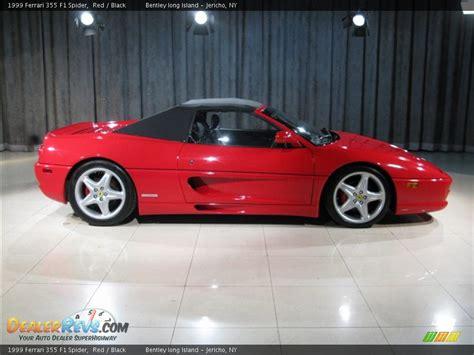 Ferrari 355 F1 by 1999 Ferrari 355 F1 Spider Red Black Photo 19