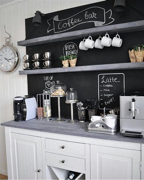 Kitchen House Coffee by Best 25 Home Coffee Bars Ideas On Home Coffee