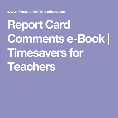 report book comments for teachers best 25 report comments ideas on report card