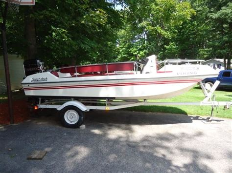 viking deck boat 1977 16ft viking deck boat aquaholic pinterest