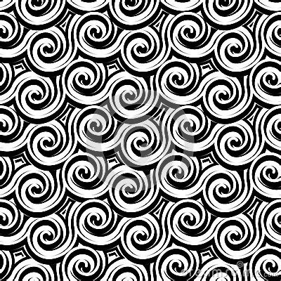 black and white wavy pattern black and white curly pattern stock vector image 41581877